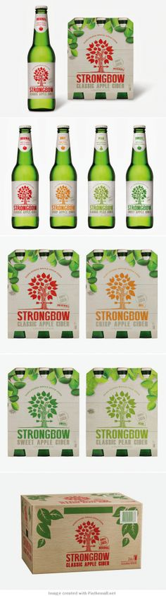 packaging / Strongbow