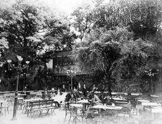 Vecchia Milano Caffè Cova con giardino