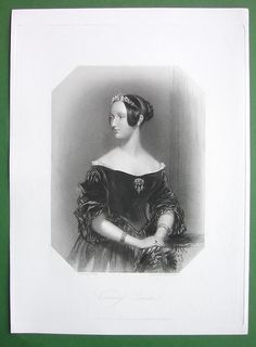 Queen Victoria Court Beauty Viscountess Duncan
