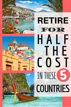 Retire for Half the Cost in These 5 Countries | Affordable & Early Retirement | Cheap Countries to Live in | Top Emigration Tips