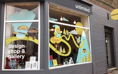Unlimited Window Display on Behance