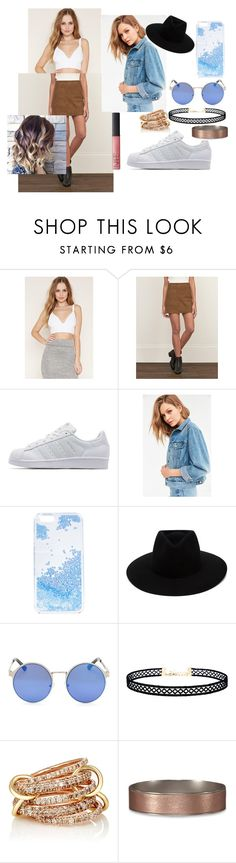 """""""Believe"""" by abydallas ❤ liked on Polyvore featuring Forever 21, Abercrombie & Fitch, adidas Originals, BDG, Skinnydip, rag & bone, LULUS, SPINELLI KILCOLLIN and NARS Cosmetics"""