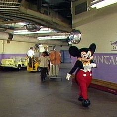 46. There are tunnels beneath Magic Kingdom that allow cast members and employees to move between different areas. It's technically ground level