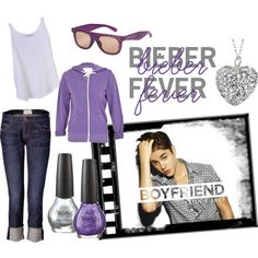 justin beiber's wardrobe that he made for girls!