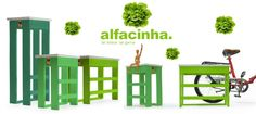 Alfacinha - Varas Verdes - Portugal Brands | http://portugalbrands.com/blog/colorful-eco-benchs/
