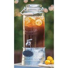 FarmStand Beverage Dispenser with Galvanized Steel Frame