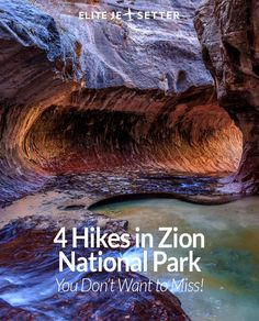 Heading to Zion National Park in Utah? There are 4 hikes you absolutely cannot afford to miss while you're there! Things to do in Utah, Things to do in Zion National Park, ZNP, Things to do in USA, great places to hike in the US. Road trip through the USA Florida Keys, Nationalparks Usa, Zion Canyon, Bryce Canyon, Grand Canyon, Utah Vacation, Vacation Spots, Las Vegas, Angeles