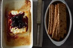 Baked Feta with Rosemary Blackberry Compote Recipe on Food52, a recipe on Food52