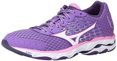 Mizuno Womens Wave Inspire 11 Running ShoeDeep LavenderWhite10 B US -- Check out this great product.