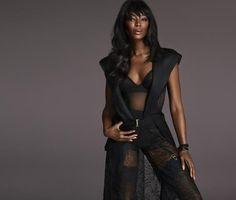 Snapshot: Naomi Campbell for La Perla Fall 2015