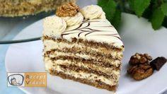 Eszterházy torta recept, Eszterházy torta elkészítése - Recept Videók