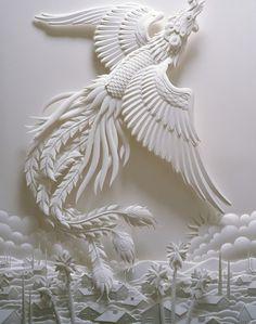 Paper-Cutting Tutorials for Beginners | Paper sculptures, Paper ...