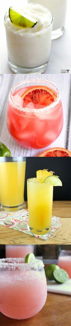 If you enjoy a delicious margarita, you'll want to sample one of these 10 flavors. These delicious margarita recipes are a must make!