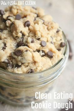 Clean Eating Cookie Dough | He and She Eat Clean