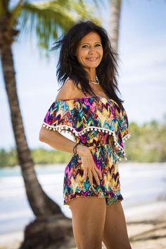 Nathalie préfère les plages à la Maison des secrets