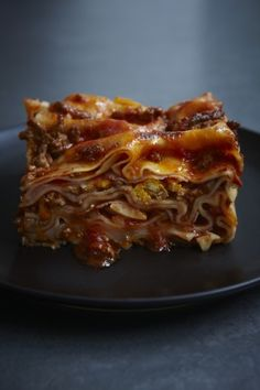 Lasagna #recipe from @Nigella Lawson