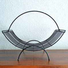 Metal Magazine Rack, $42, now featured on Fab.