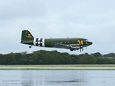 DC-3 fly over