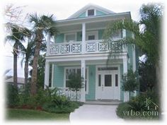 pretty key west style home