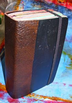 the last door down the hall: Book Surgery - Art Journal