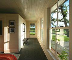 Riverbank Residence - Rear Entry Hall, Albertsson Hansen Architecture | Remodelista Architect / Designer Directory
