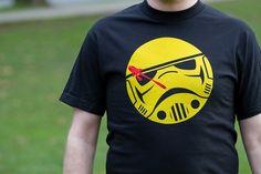 Stormtrooper T-Shirt  Possible freezer paper stencil shirt???