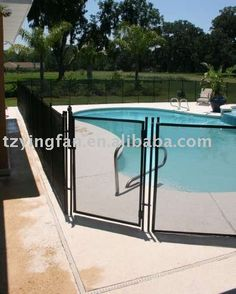 Life Saver Pool Fence Of Central Florida Is A Removable Mesh Pool Fence Designed Specifically To
