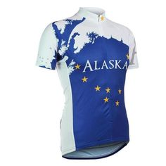 Cheap bike clothing, Buy Quality bike styles clothing directly from China mountain bike clothing Suppliers: style Cycling jersey jiashuo Men short sleeve Cycling jersey Mountain Bike clothing Ciclismo Anti-swea MTB Bicycle Cycling Gear, Cycling Jerseys, Cycling Outfit, White Man, Blue And White, Alaska Flag, Sport Outfits, Just In Case, Snowboarding