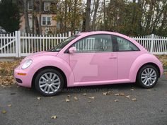 I'm getting this pink Volkswagen beetle convertible for my bday Pink Volkswagen Beetle, Pink Beetle, Beetle Car, Volkswagen Golf, Pretty Cars, Cute Cars, Dream Cars, Barbie Car, Tout Rose