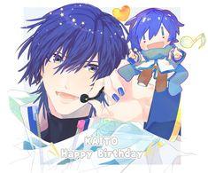 Vocaloid Kaito, Kaito Shion, Kagamine Rin And Len, Neko, Artwork, Artist, Cute, Anime, Pictures