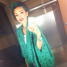 I love Kandee Johnson's hair color and her style is awesome
