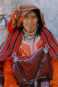 Portrait of a Berber woman from the village of Chenini in Tunisia  Photo by Francesco De Benedictis