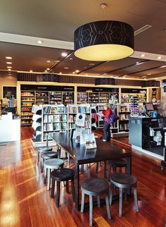 Watermark Books Melbourne Airport Interior Design Graphic Signage And Fixture By Thoughtspace