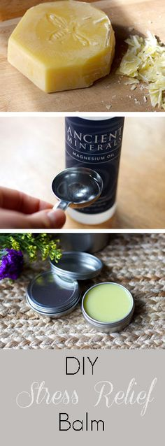 Stress Soothing Balm This simple DIY salve with magnesium and lavender is perfect for stress relief on-the-go.This simple DIY salve with magnesium and lavender is perfect for stress relief on-the-go. Natural Stress Relief, Stress Relief Toys, Homemade Reed Diffuser, Magnesium Oil, Magnesium Benefits, Oil Benefits, Work Stress, Stress Management, Management Quotes