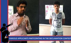 ASSET Society-Applied Sciences Department recently organized Declamation Contest for its students.