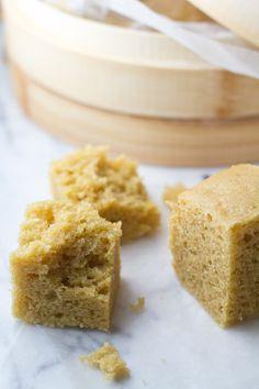 Malaysian Steamed Cake - Mah Lai Goh (馬拉糕)