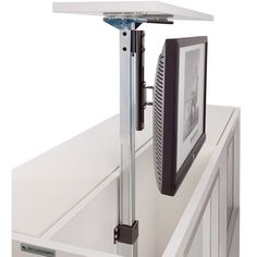 Support écran plat téléscopique à encastrer dans meuble