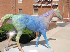 One of my favorite painted horses in Lexington, KY
