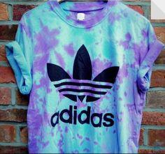 adidas tie dye blue/purple tee omgsh wannnnnt