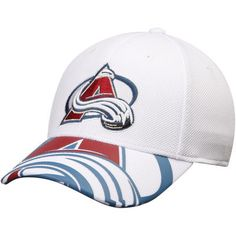 27b3eb72f Colorado Avalanche Reebok Face Off Draft Flex Hat - White