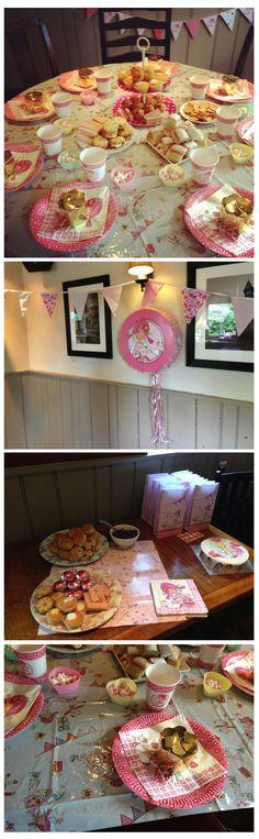 Emily Button Fan News Laura Whatford, tea party #EmilyButton #teaparty