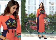 Specification : NAME :Manas Priyal-2 TOTAL DESIGN :8 PER PIECE RATE : 449/- FULL CATALOG RATE : 3592/- WEIGHT :4 SIZE :M | L | XL | XXL | Type :Long Kurtis MOQ :Minimum 8 Pcs. Fabric Description : 14 kg Rayon  Upcoming Date  :05 / 05 /2018 Embroidery On Kurtis, Long Kurtis, Catalog Design, Fancy, Clothes For Women, Casual, Prints, Cotton, Stuff To Buy