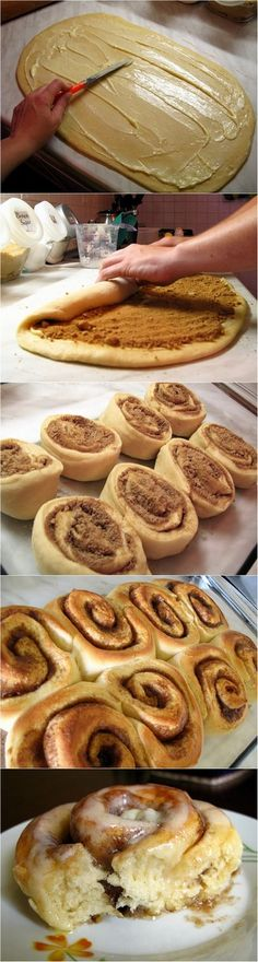 Super easy cinnamon rolls! Perfect for a quick morning breakfast that you don't want to turn into a big production :)