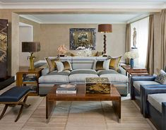 Warm neutrals: Kips Bay showhouse living room by Stephen Miller Siegel by xJavierx, via Flickr