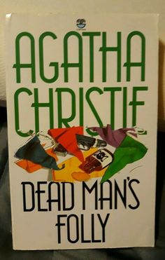Dead Man's Folly (Agatha Christie Collection S.) by Christie, Agatha Paperback Dead Man's Folly, Mystery Show, Miss Marple, Hercule Poirot, Story Writer, Murder Mysteries, Agatha Christie, Paperback Books, Books To Read