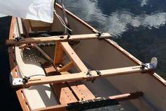 Sailing Canoe Rig set up