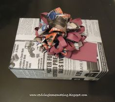 Reviving Homemaking: Creative Gift Wrapping: Thinking Outside the Roll