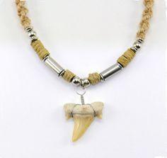 images of hemp jewelry Hemp Necklace, Hemp Jewelry, Macrame Necklace, Beaded Bracelets, Pendant Necklace, Necklaces, Shark Tooth Necklace, Trendy Jewelry, To My Daughter
