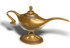 Magical Oil Lamp...
