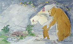 From the book 'You and Me, Little Bear' published by ×Walker Books Ltd in 1996